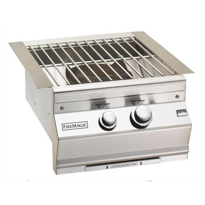 Fire Magic Propane Gas Built-In Power Burner With Stainle...