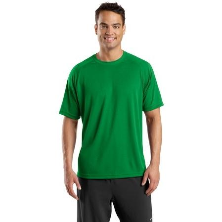 Sport-Tek Dry Zone Short Sleeve Raglan T-Shirt Large - Kelly Green