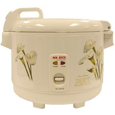 Sunpentown 15 Cups White Rice Cooker - SC-1615Z