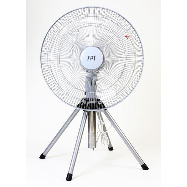 Sunpentown Heavy Duty Pedestal Fan, 18 Inch - SF-1816