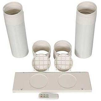 Windows window kit for portable ac for Window vent kit