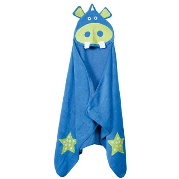 Elegant Baby Hoodorables Hooded Towel - Harvey Hippo
