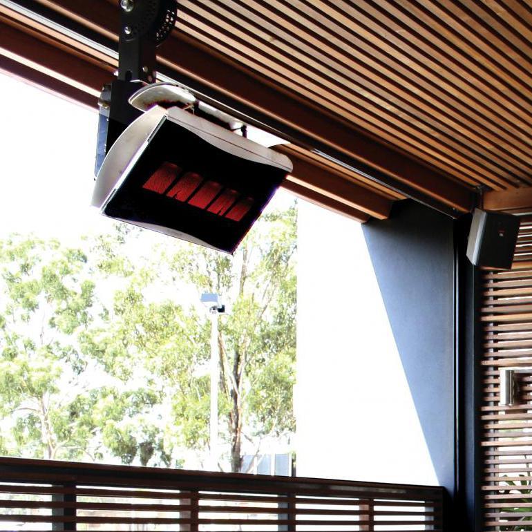 Bromic Platinum 500 Smart-heat Natural Gas Patio Heater - 39,800 Btu