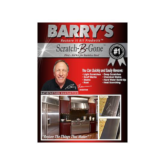 Barrys Restore It All Scratch-B-Gone Homeowners Scratch Remover Kit - BRIA-SBG-HK
