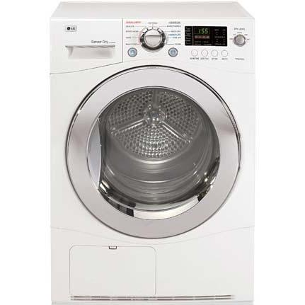 LG DLEC855W 4.2 Cu. Ft. Front Load Compact Electric Dryer - White 2823846