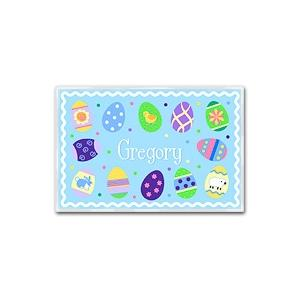 Olive Kids Personalized Laminate Placemat - Easter Boy