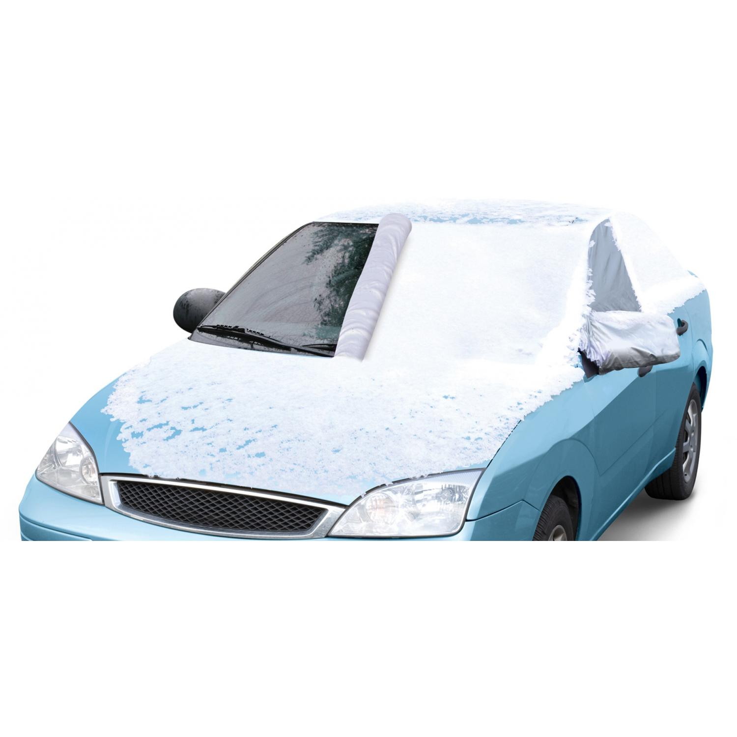 Classic Accessories Deluxe Windshield Snow Cover - Silver - Medium