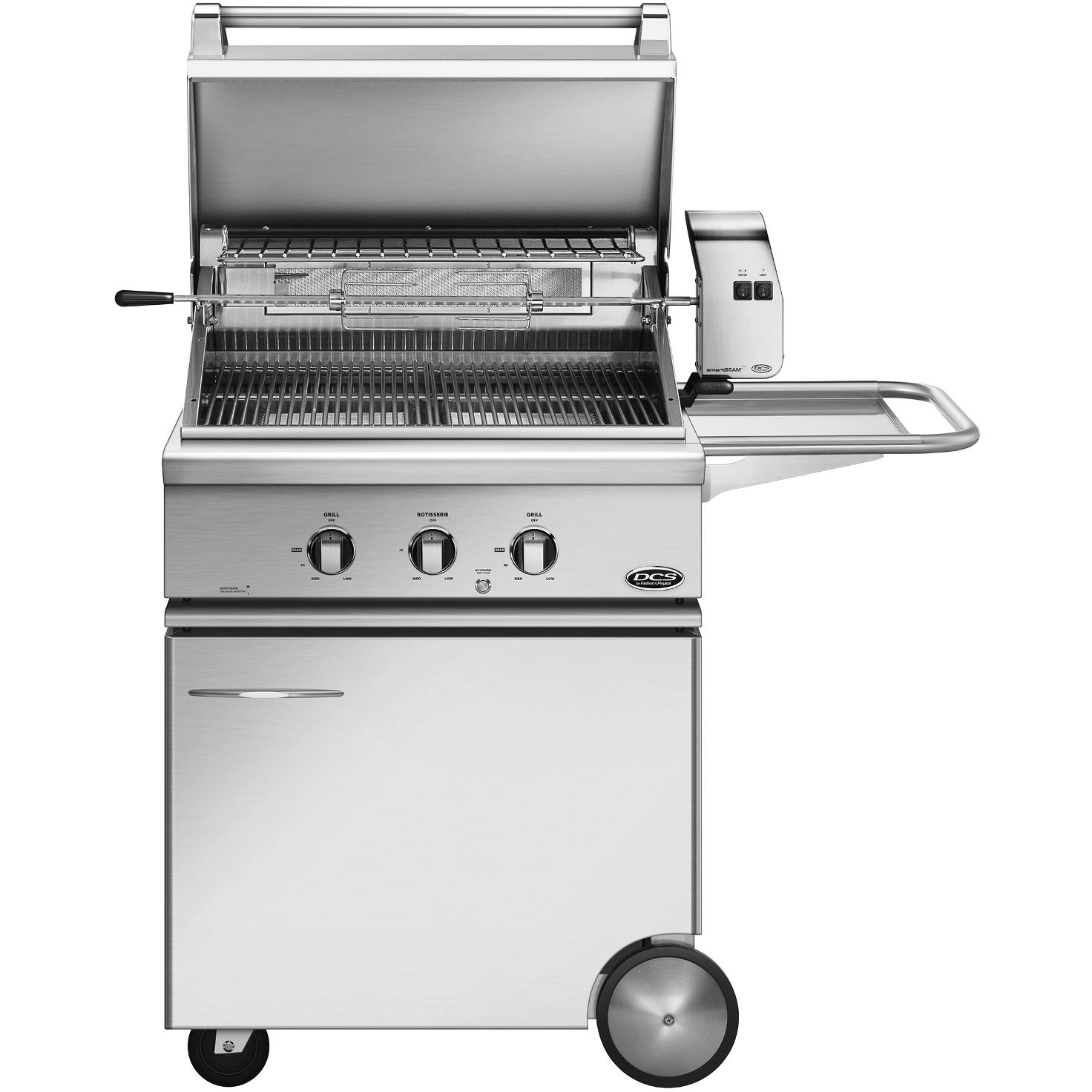 DCS 30-Inch Propane Gas Grill With Rotisserie On CSS Cart - BGC30-BQR-L - 2015 Model 2896768
