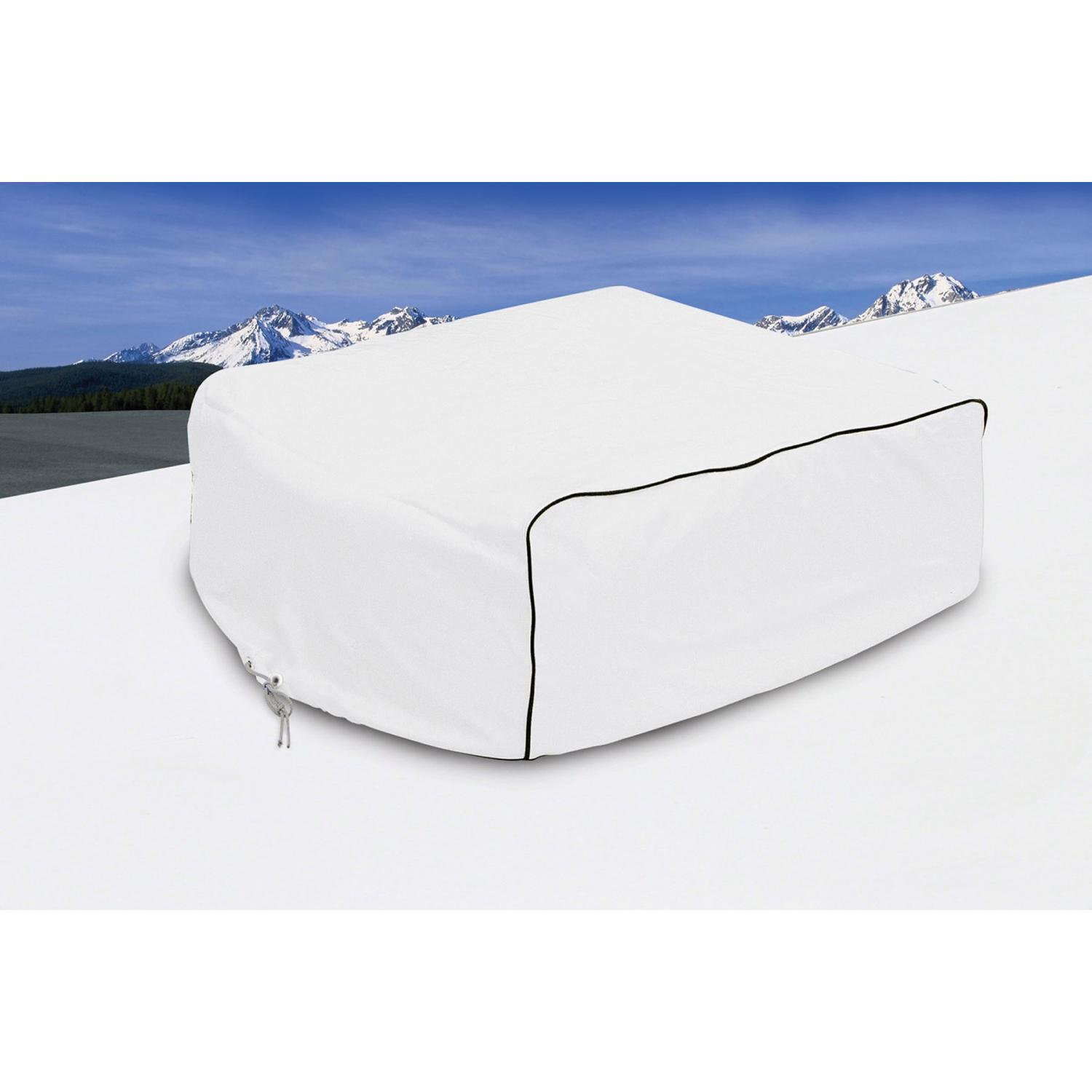 Classic Accessories RV A/C Cover - White - Model 1 1461045