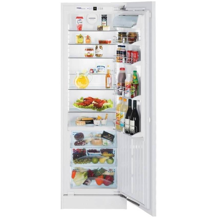 Liebherr HRB-1110 10.8 Cu. Ft. Capacity Integrated Refrigerator - Custom Panel Door / Stainless Steel Cabinet