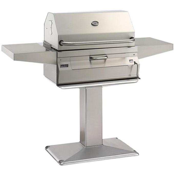 Fire Magic Charcoal Legacy Post Mount Barbecue Grill 22SC...