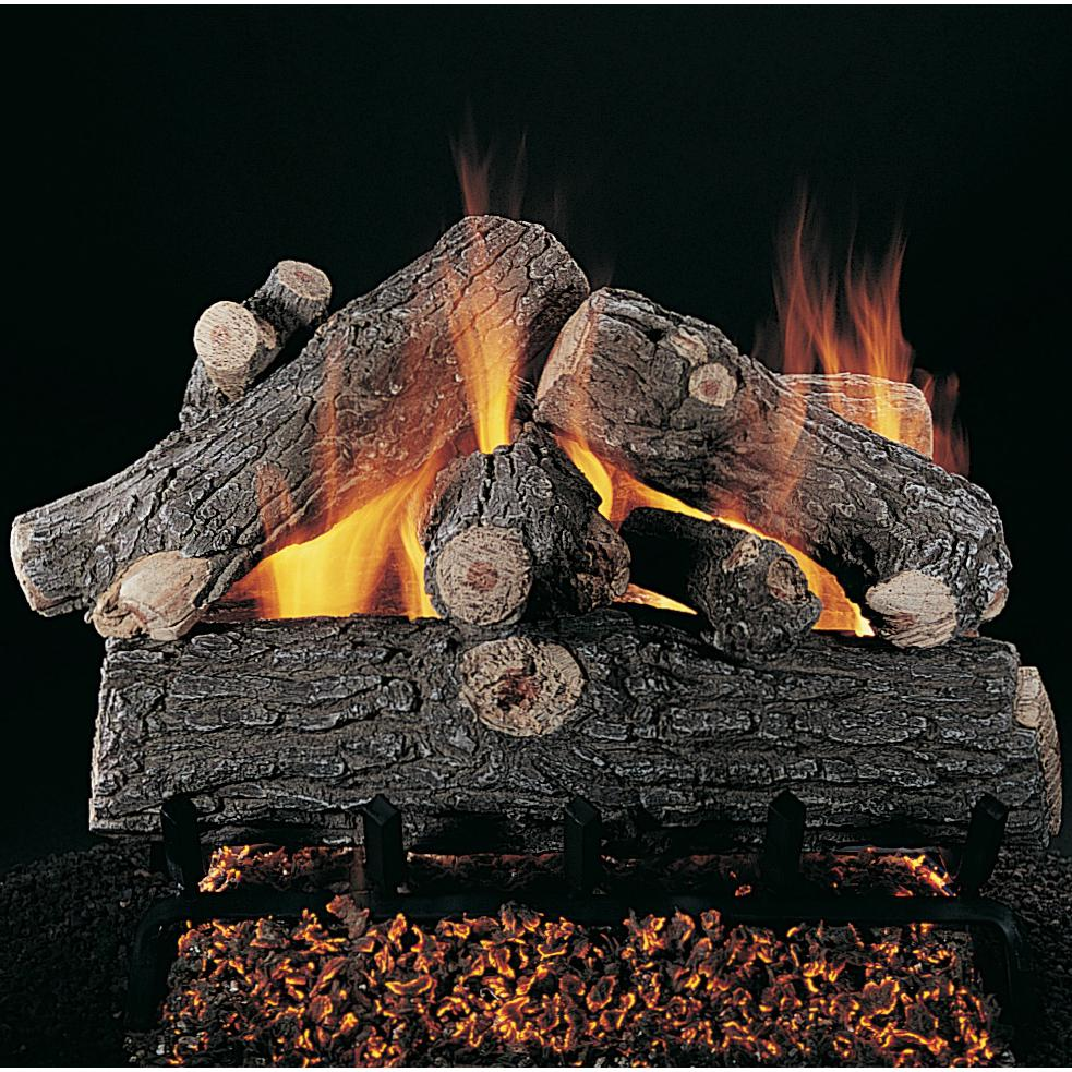 RASMUSSEN 30-Inch Prestige Oak Gas Log Set (Logs Only - B...