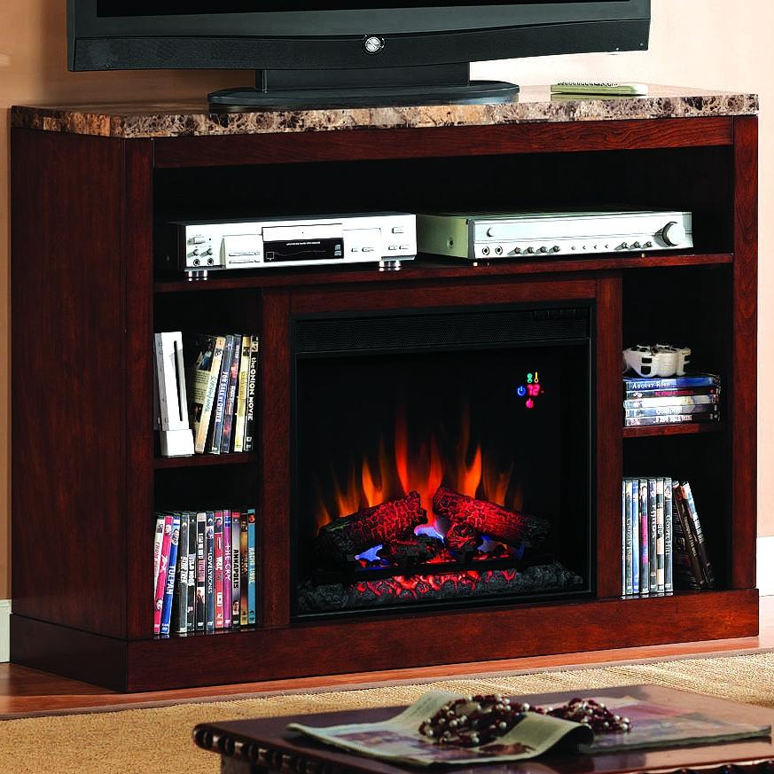 Picture of Adams 47-Inch Electric Fireplace Media Console - Empire Cherry - 23MM1824