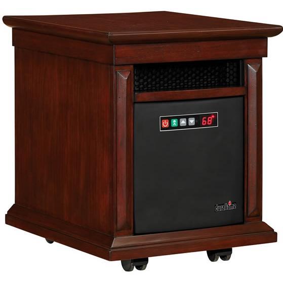 Duraflame 10HM2273-W505 Livingston Mobile Electric Heater - Walnut Finish