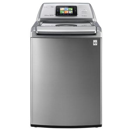 LG WT6001HVA 4.7 Cu. Ft. Smart ThinQ Top Load Washer - Graphite Steel 2890250