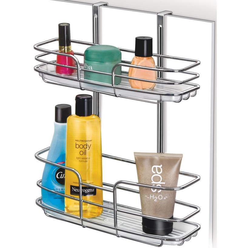 Lynk Over Cabinet Door Organizer - Double Shelf W/Molded Tray - 601400DS