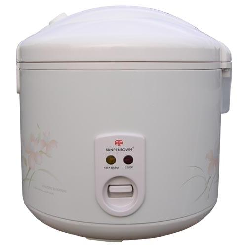 Sunpentown 10 Cups White Rice Cooker - SC-1811