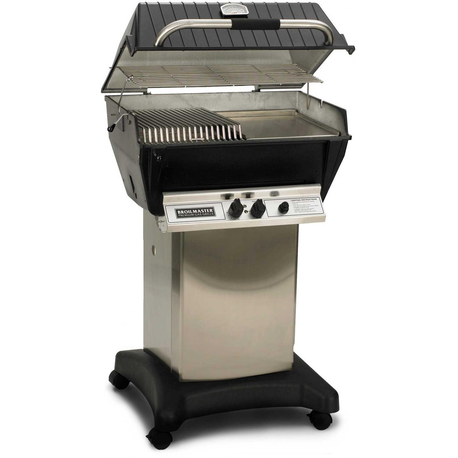 Broilmaster P3-SXN Super Premium Natural Gas Grill On Stainless Steel Cart 2802852