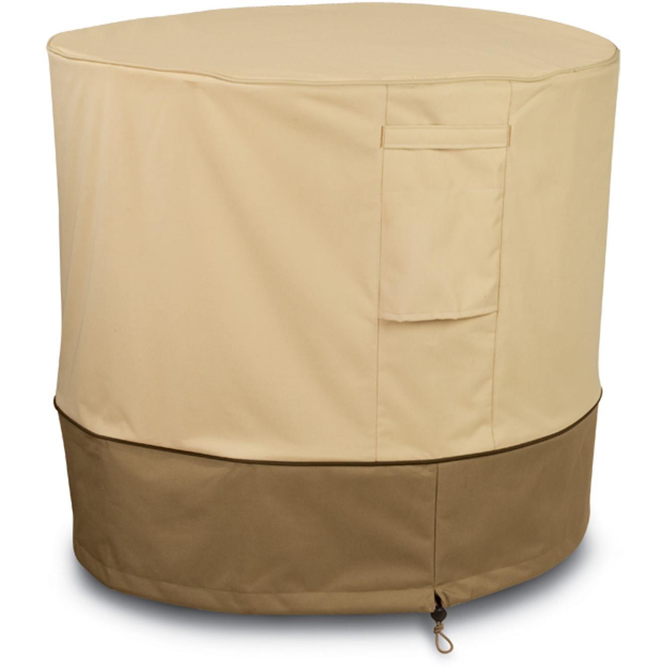 Classic Accessories Veranda Air Conditioner Cover - Pebble/Barn/Earth - Round 2826024