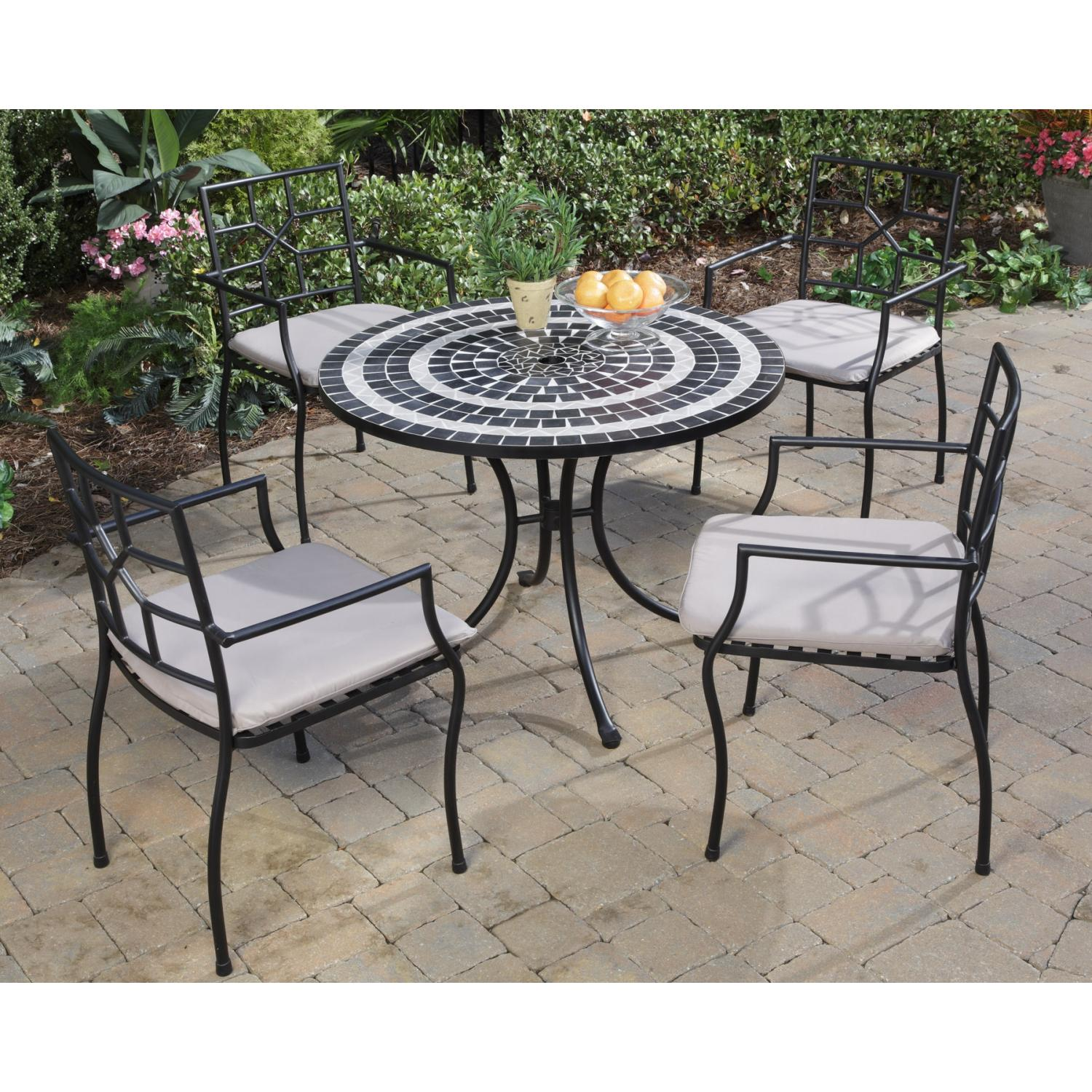 Home Styles Delmar And Cambria Outdoor Patio Dining Set