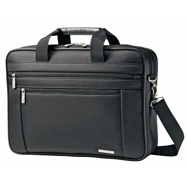 Samsonite Classic Business 2 Gusset Briefcase - Black