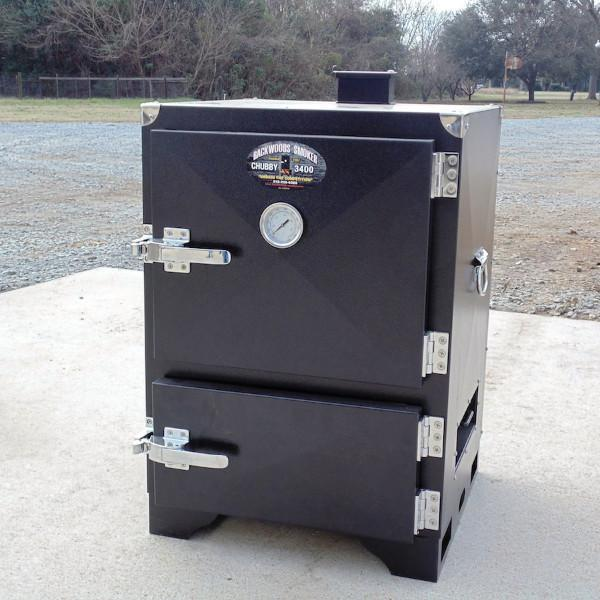 Backwoods Smoker Chubby 3400 Vertical Charcoal Smoker - LVPBSCH3400