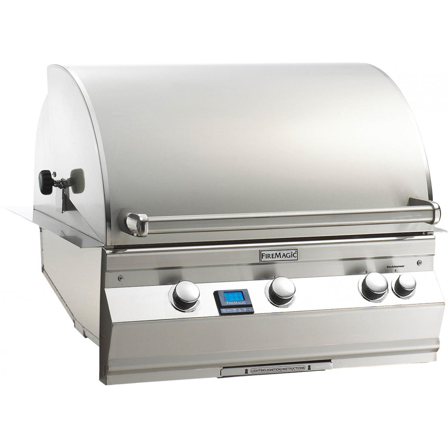 Fire Magic Aurora A660i All Infrared Built-In Natural Gas Grill With Rotisserie - A660i-6A1N 2894024