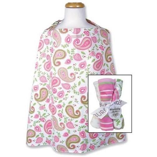 Trend Lab Nursing Cover And Burp Cloth Set - Paisley Park