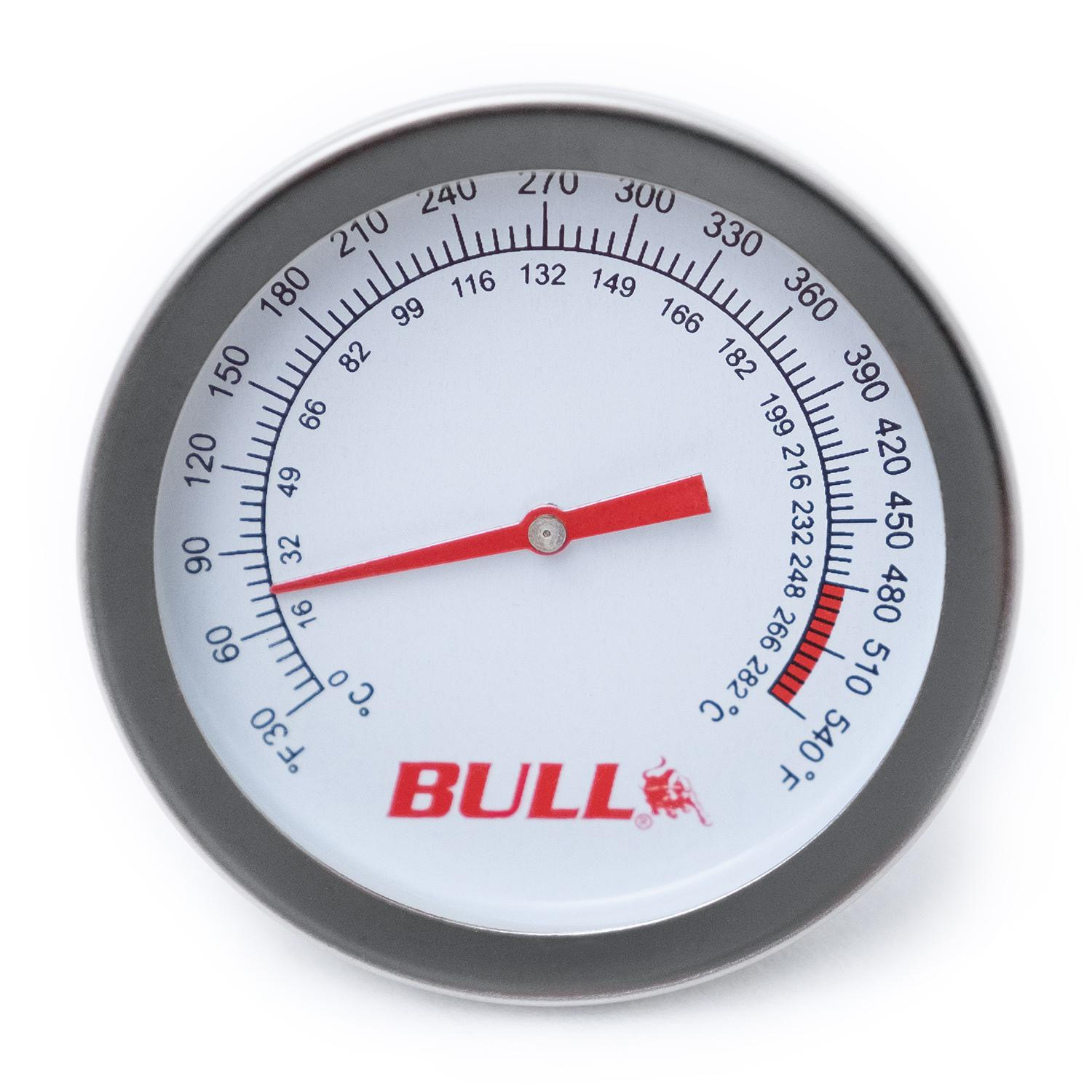 Bull Grill Replacement Temperature Gauge - 16509
