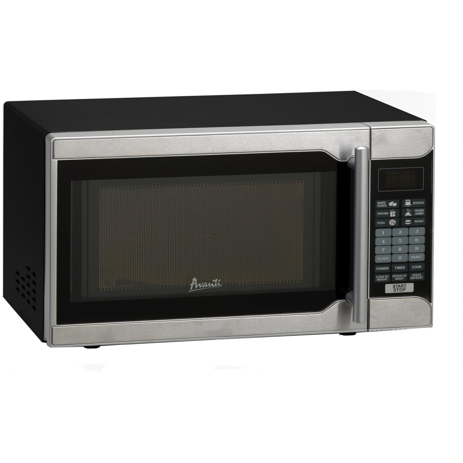 Picture of Avanti 07 Cu Ft Compact Microwave - Black - MO7103SST