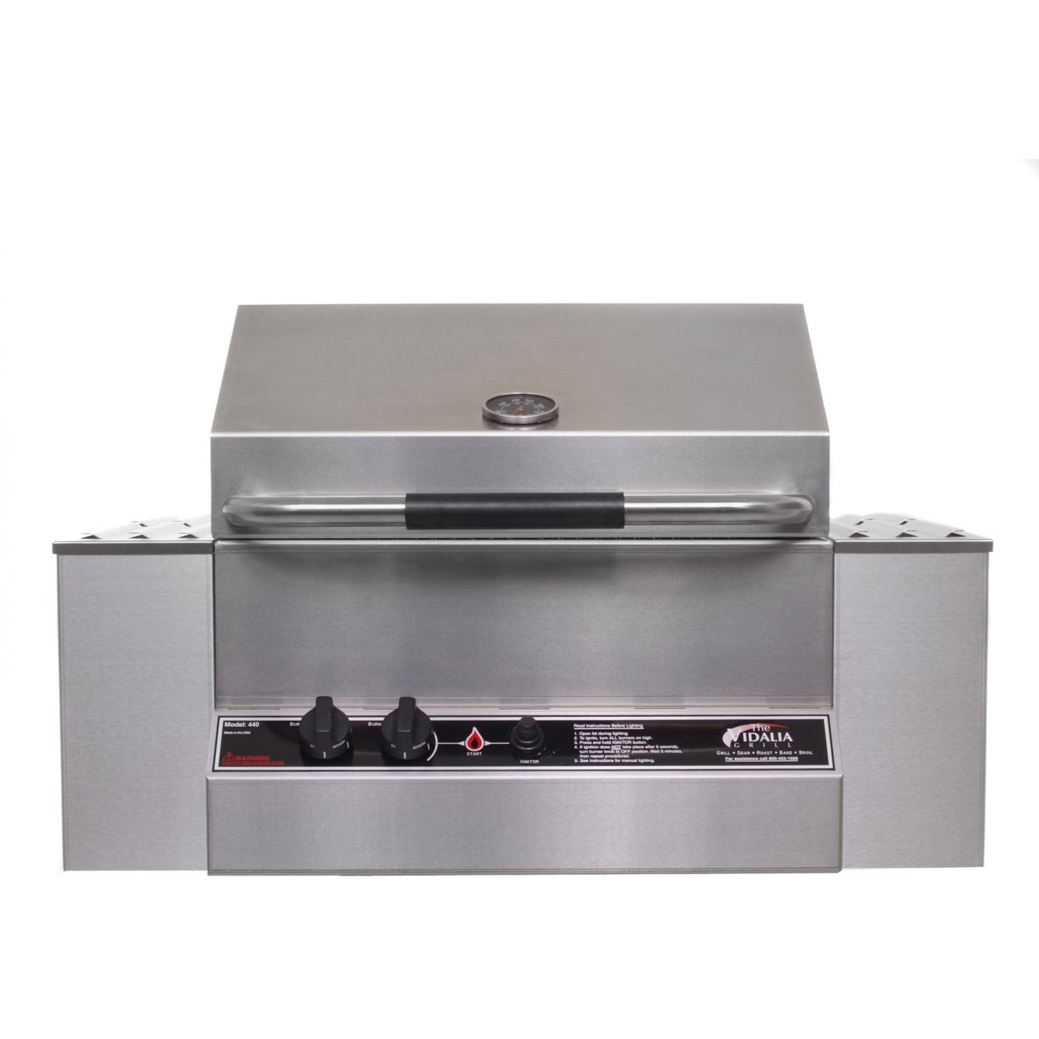 Vidalia Gas Grills Built-In Natural Gas Grill 440