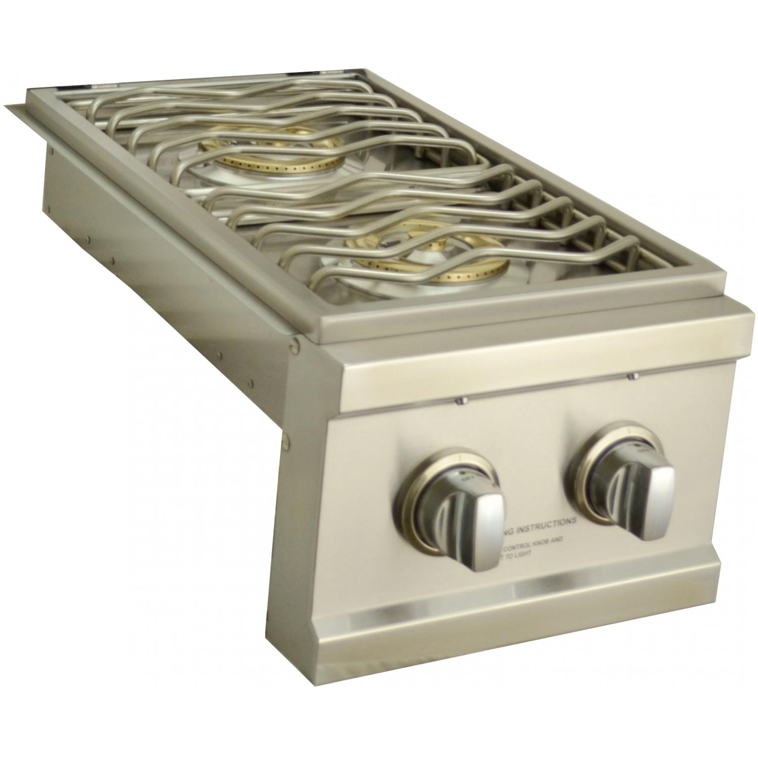 Sole Propane Gas Built-in Double Side Burner With Led Light at Sears.com