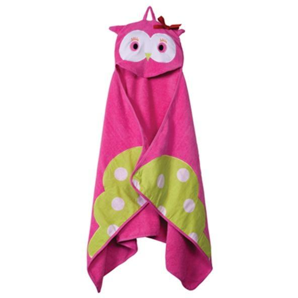 Elegant Baby Hoodorables Hooded Towel - Olivia Owl