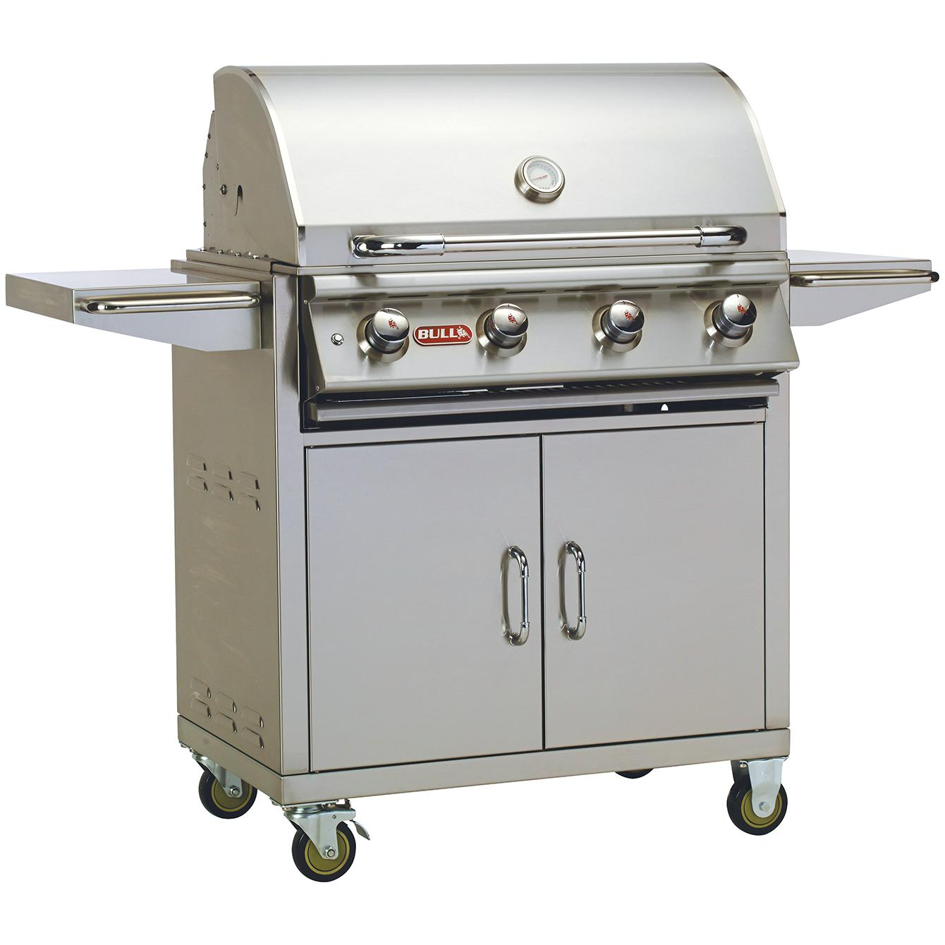Bull Lonestar Select 30-inch 4-burner Natural Gas Grill On Cart - 87002