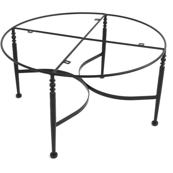 Meadowcraft Athens Wrought Iron Chat Patio Table Base