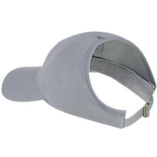 Otto Cap Brushed Cotton Twill Low Profile Pro-Style Ponytail Cap - Gray