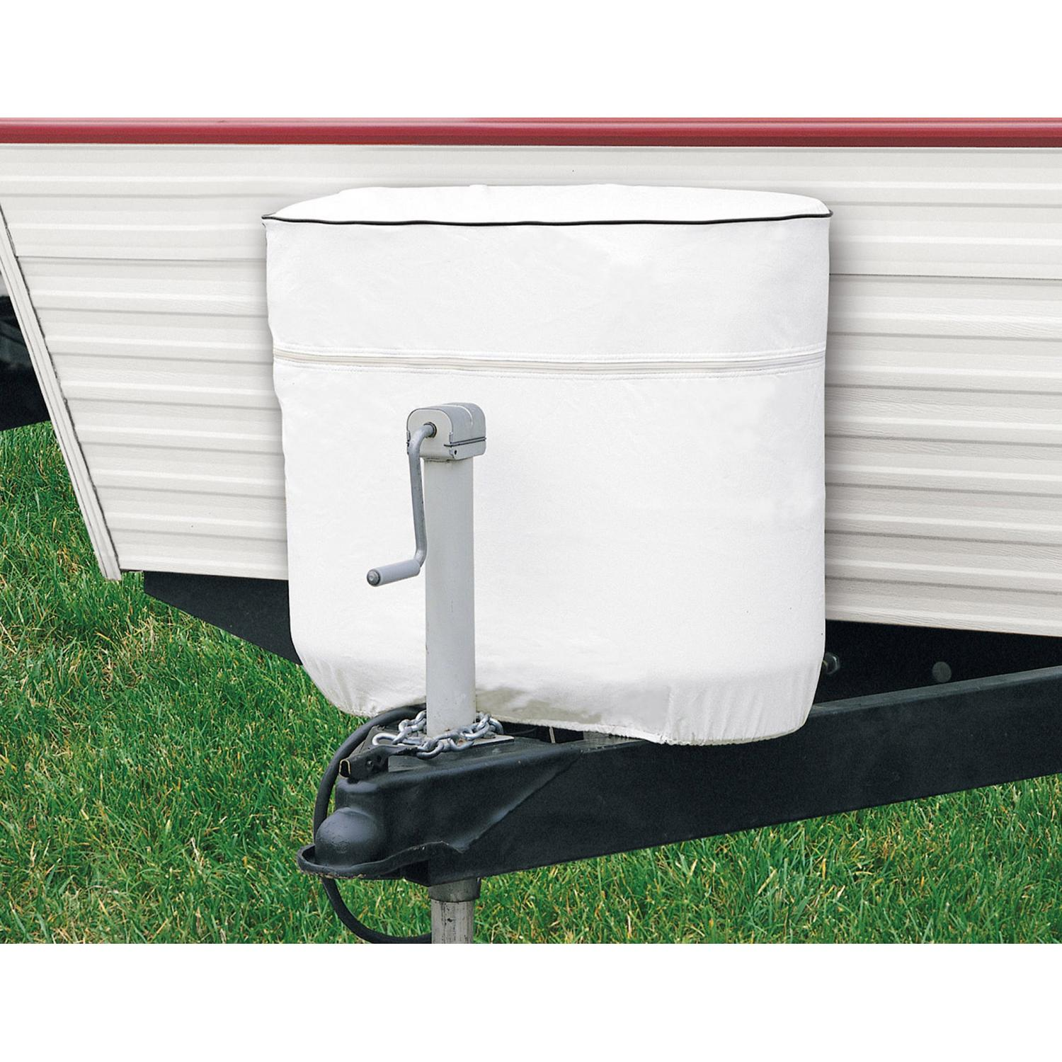 Classic Accessories RV Tank Cover - White - Model 2