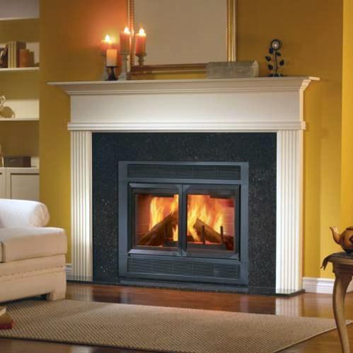 Monessen BFC36 Royal Monarch 36-Inch Clean-Burn Heat Circulating Wood Burning Fireplace System