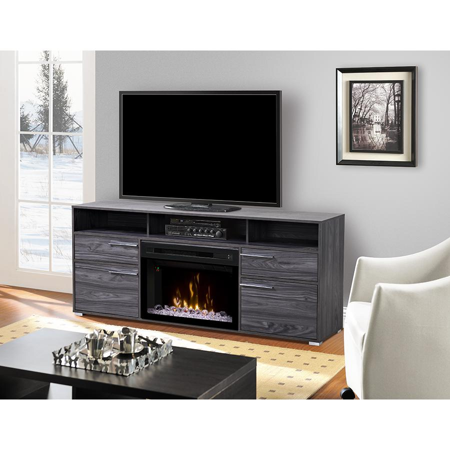 Dimplex Multi-Fire XD Sander 66-Inch Electric Fireplace M...