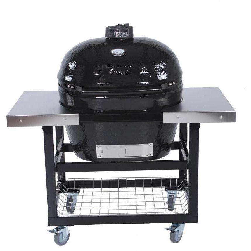Deals Primo Ceramic Charcoal Smoker Grill On Cart With