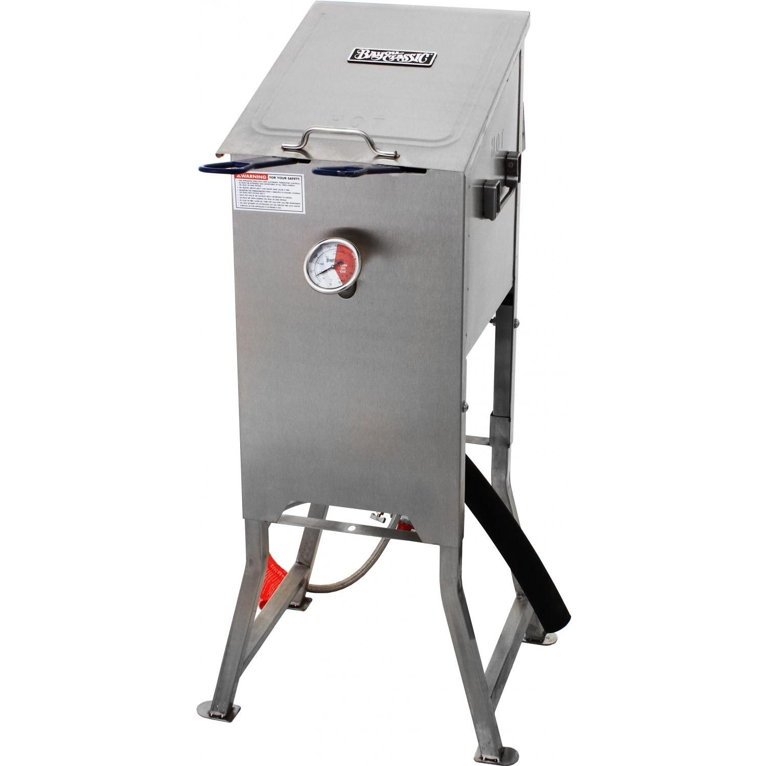 Picture of Bayou Classic 4 Gallon Stainless Steel Fryer With Two Stainless Steel Baskets