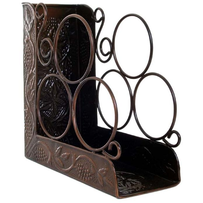 Picture of Old Dutch Antique Copper Wine Rack