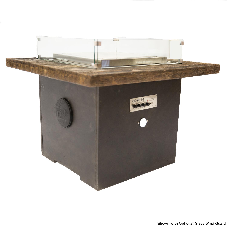 Blazing Beats Dancing Flame 38 Fire Table W/ Bluetooth Audio - Laguna Loft- Natural Gas - COY-LAGL-BB-NG