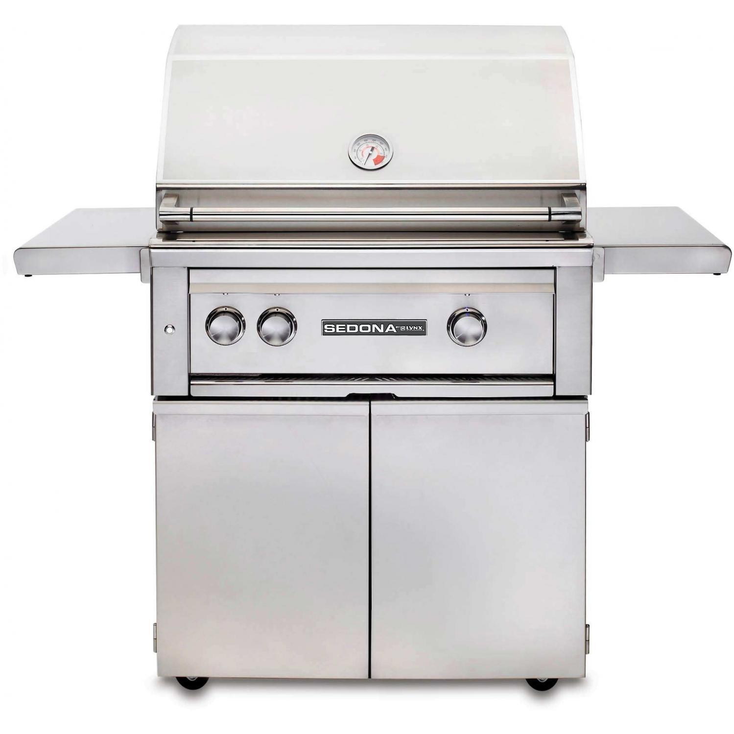 Lynx Sedona By Lynx 30-inch Propane Gas Grill On Cart With Prosear Burner And Rotisserie L500psr-lp at Sears.com