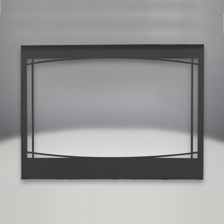 Napoleon Black Zen Decorative Front For Ascent 42-Inch Di...