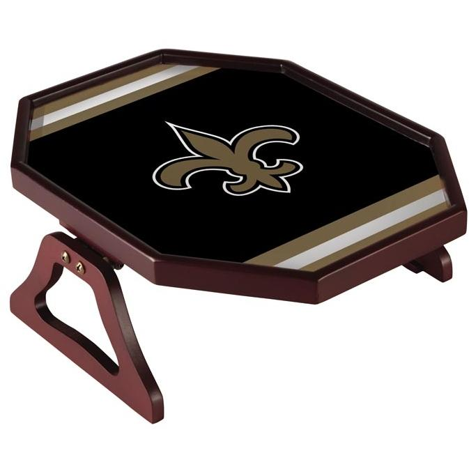 Evergreen Armchair Quarterback Team Snack Tray - New Orleans Saints