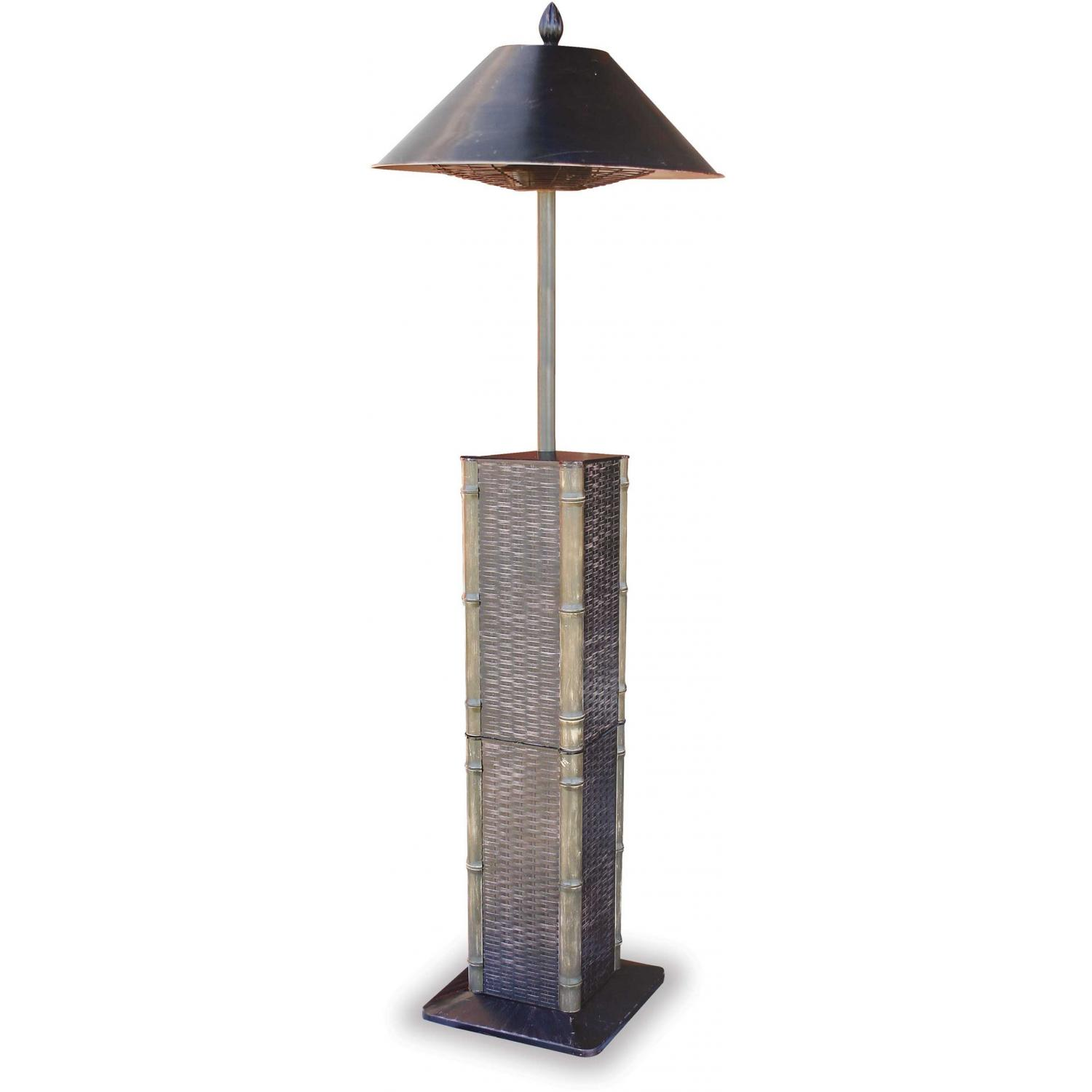 Endless Summer Patio Heaters Sumatra Style Cast Aluminum Electric Patio Heater