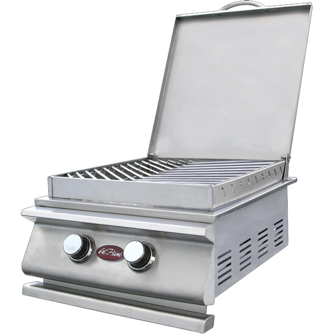 Cal Flame BBQ10955P Stainless Steel Natural Gas Power Burner (Ships As Propane With Conversion Fittings)