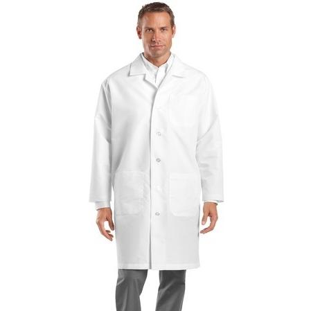 CornerStone Full-Length Lab Coat Medium - White