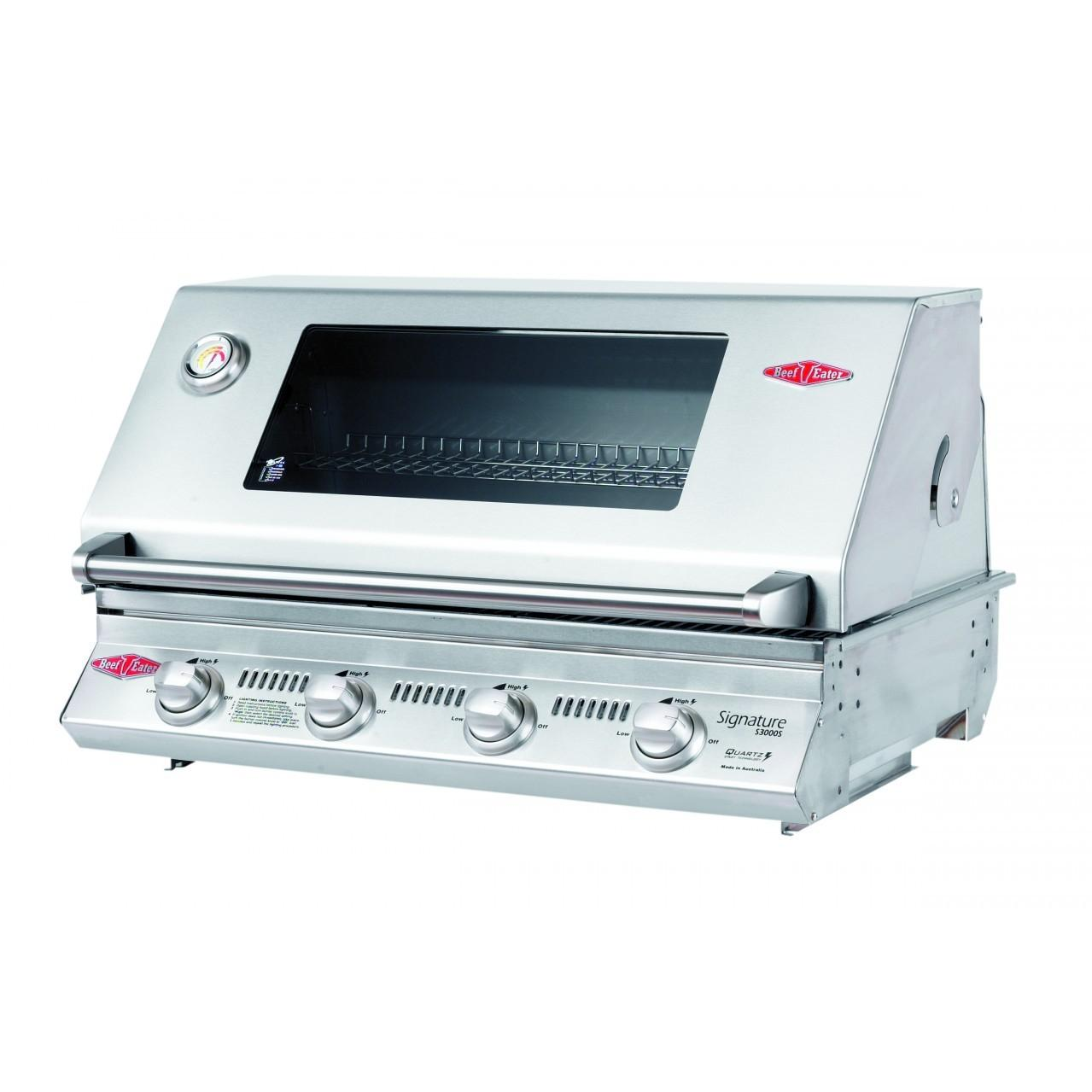 Beefeater Signature Premium 4 Burner Built-in Propane Gas Grill